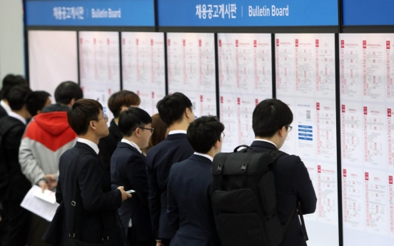 S. Korea's drop in jobs sharpest since 1999 amid virus pandemic