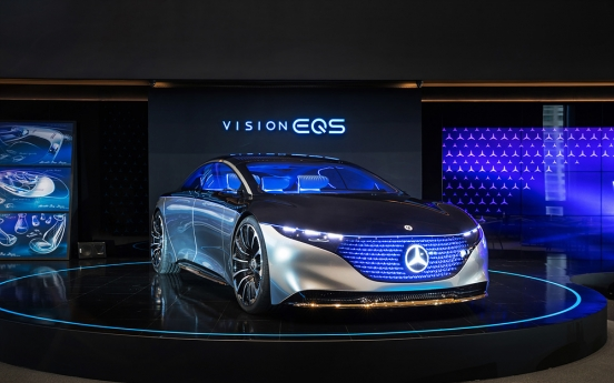 Mercedes-Benz Korea unveils concept car Vision EQS