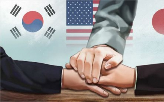 S. Korea, US, Japan to hold defense ministers' talk next month via videoconferencing