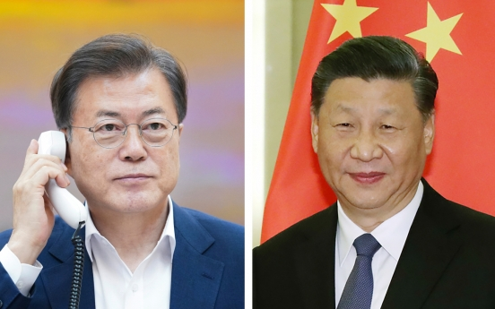 Xi affirms determination to visit S. Korea this year during phone talks with Moon