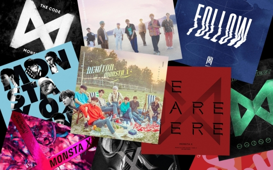 50 songs from Monsta X to mark band's 5th anniversary
