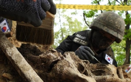 S. Korea discovers more apparent Korean War remains in DMZ