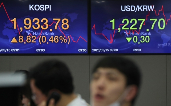 Seoul stocks nearly flat after choppy session