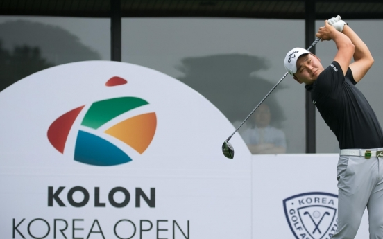 S. Korean men's national golf championship canceled for 1st time due to coronavirus