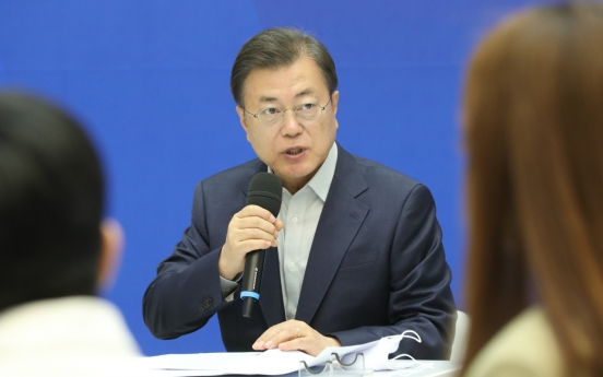 Moon gearing up for key projects on economy, peace process in June