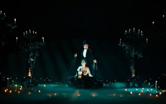 Seoul run of 'Phantom of Opera' extended to Aug. 8