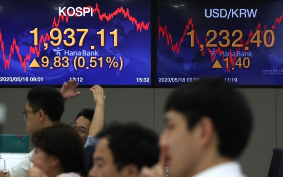 Seoul stocks close higher on hopes of global stimulus