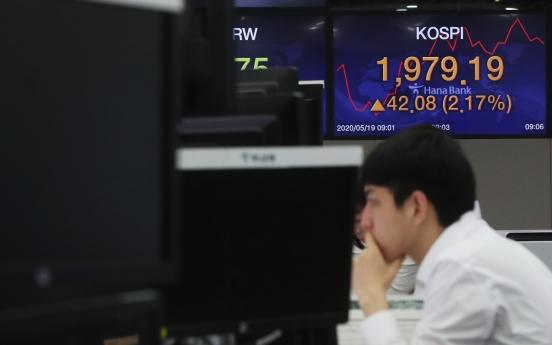 Seoul stocks open sharply higher on hopes of virus vaccine