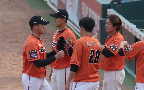 Despite injuries, KBO's Eagles staying afloat behind unexpectedly strong pitching