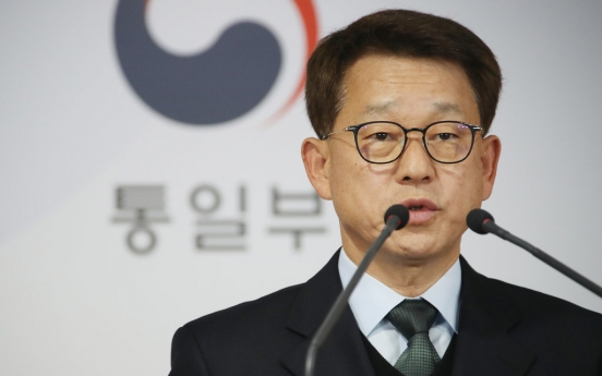 S. Korea sees 2010 sanctions on N. Korea as no hindrance to inter-Korean exchange