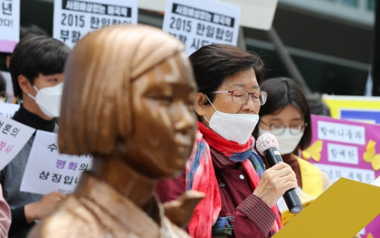 'Comfort women' movement in crisis