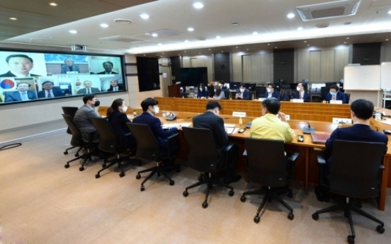 FM Kang discusses biz support with mission chiefs in Middle East amid virus outbreak