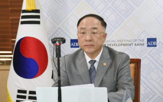 S. Korea readies for upcoming ADB annual meeting, chairs online pre-session