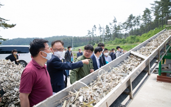 Korea Western Power recycles oyster shells to reduce fine dust