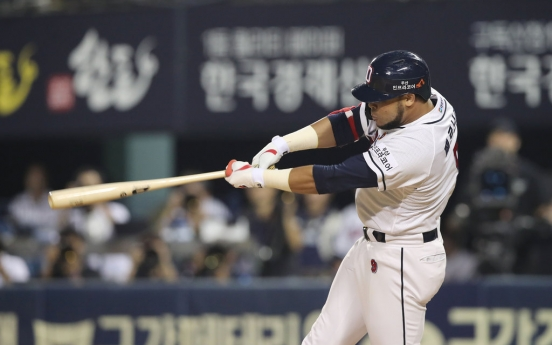 Cuban hitting machine humming along in KBO