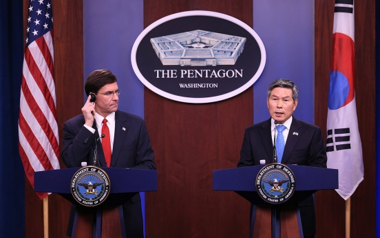 S. Korea, US pushing for defense ministers' videoconference next month