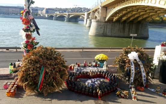 Hungary to erect monument in memory of S. Korean victims of boat sinking