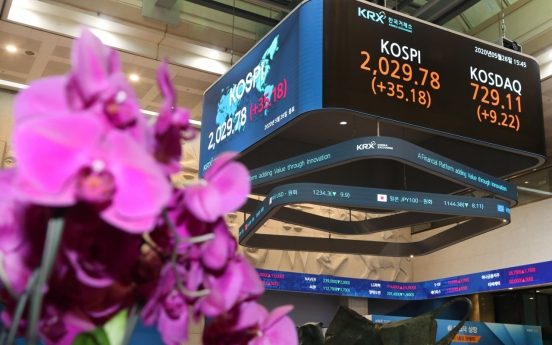 Despite US-China conflict fears, Kospi rises back past 2,000-mark
