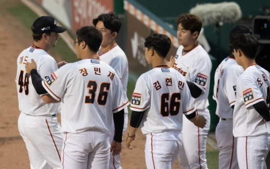 Hanwha Eagles' ace 'very pleased' with KBO season debut following injury layoff