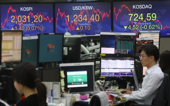 Seoul stocks extend gains to third session on hopes of recovery