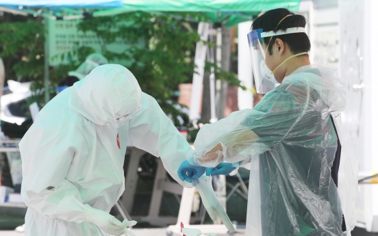 S. Korea's virus fight in trouble amid new cluster, daily infections at 2-month high
