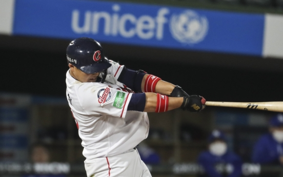Offense drying up for KBO's Lotte Giants