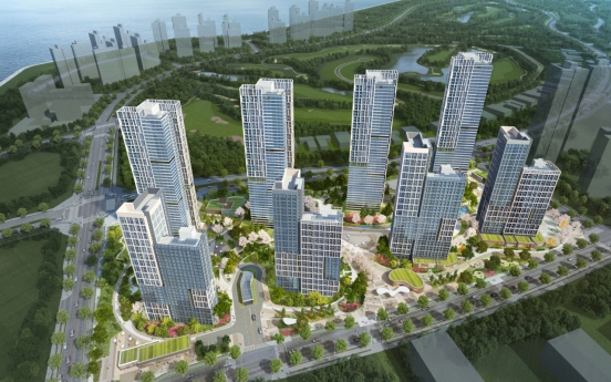 Hyundai E&C begins sales of new smart apartment complex in Songdo
