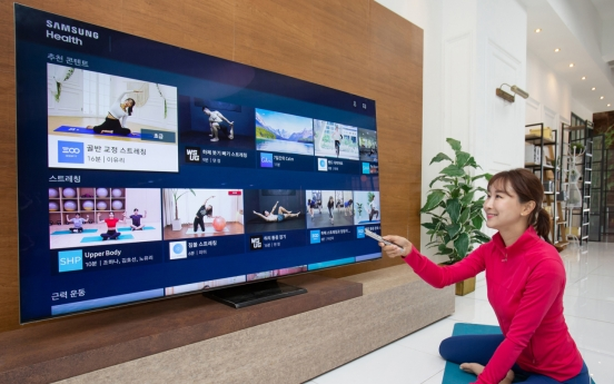 Samsung's health app slips into TVs in Korea, US, UK
