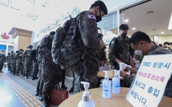 One soldier tests positive for coronavirus, total infections at 53