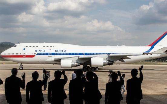 S. Korea to lease Korean Air's B747-8i as new presidential plane