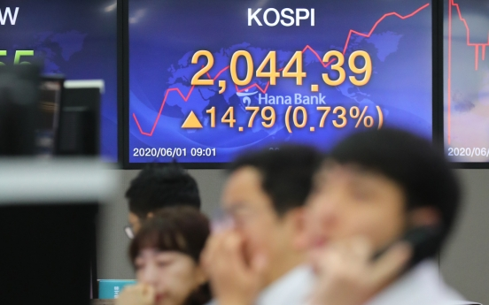 Seoul stocks open higher on eased US-China tension worries