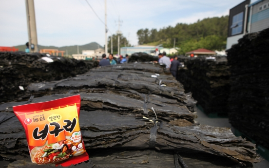 Nongshim buys more kelps to meet surging demand for chapaguri