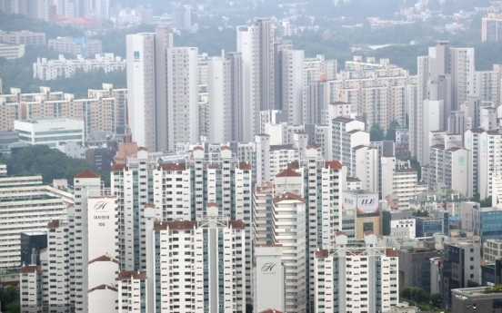 Seoul apartment prices in non-Gangnam areas rise upon mortgage ban