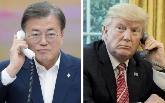 Moon accepts Trump's invitation to G7 summit