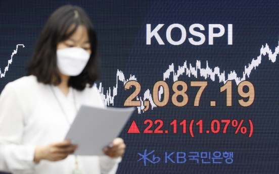 Seoul stocks up for 3rd day on recovery hopes