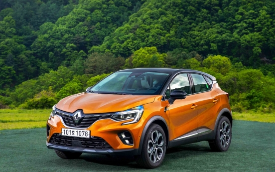 Renault Captur picked as car of month