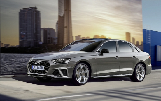 Audi launches new models of midsized sedans A4, A5