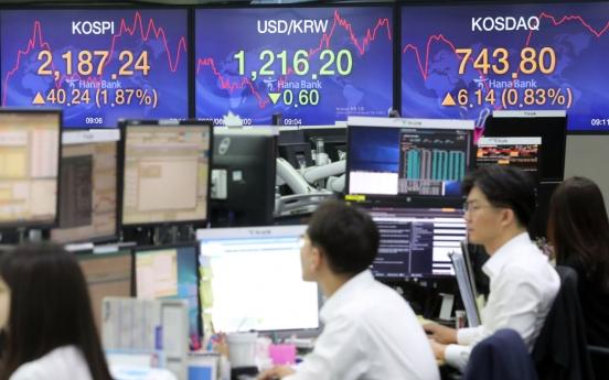 Seoul stocks open higher on economic recovery hopes