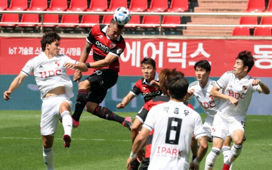 4 clubs still searching for 1st win of K League season