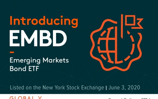 Global X launches actively-managed emerging markets bond ETF