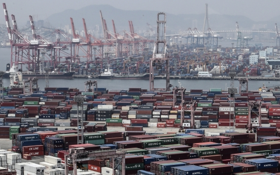 S. Korea sees largest current account deficit in 9 years in April