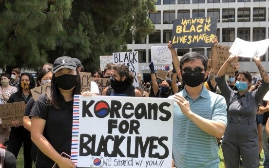 한인들도 미 평화시위 동참…흑인여성