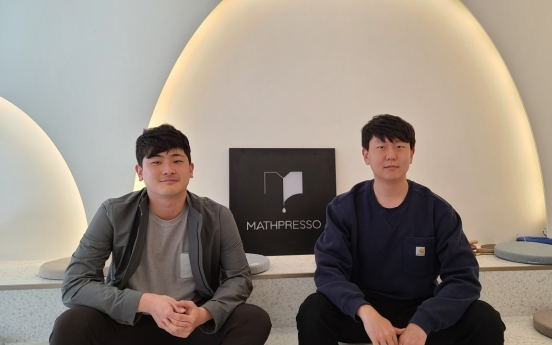 [Herald Interview] Startup mixes Korea's strongest areas: math and tech