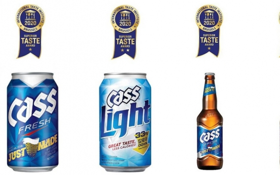 OB's flagship beer Cass receives Superior Taste Award