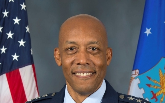 Senate confirms Gen. Brown, with experience in S. Korea, as new US Air Force chief