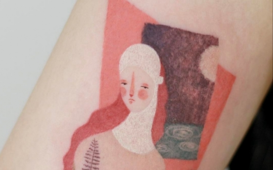 Korea's 'sentimental tattoos' trending among the young
