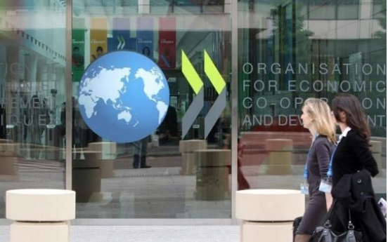 S. Korea's economy will face less contraction than peer economies: OECD