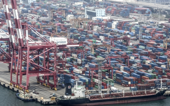 S. Korea's June 1-10 exports jump 20% on more working days