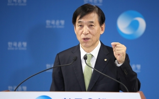 BOK chief pledges to build economic resilience to counter pandemic