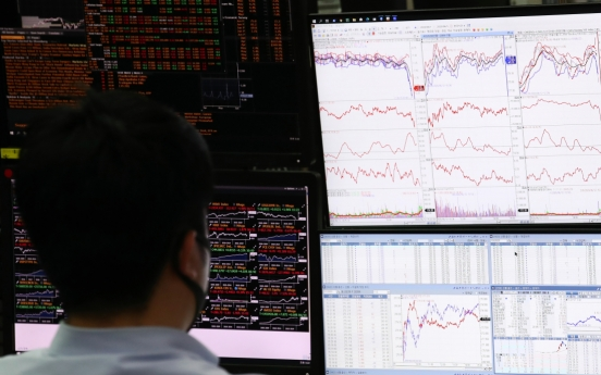 Kospi cushions losses from Wall Street plunge